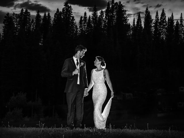 Michael and Erika's Wedding in McCall, Idaho 109