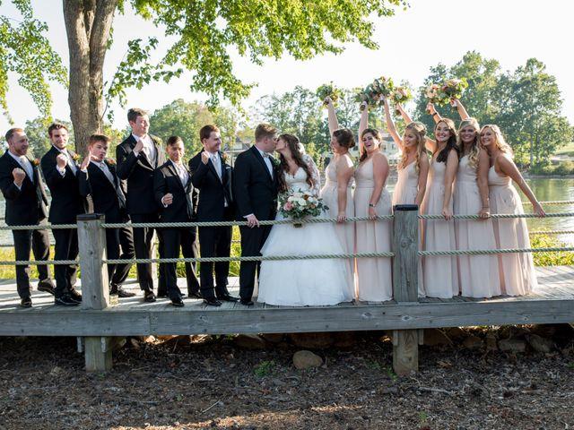 Zach and Tiffany's Wedding in Mooresville, North Carolina 10
