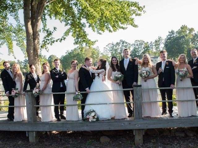 Zach and Tiffany's Wedding in Mooresville, North Carolina 1