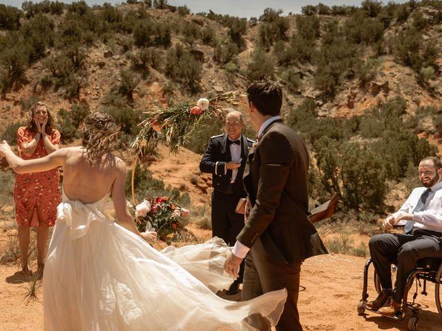David and Rebecka's Wedding in Amarillo, Texas 7