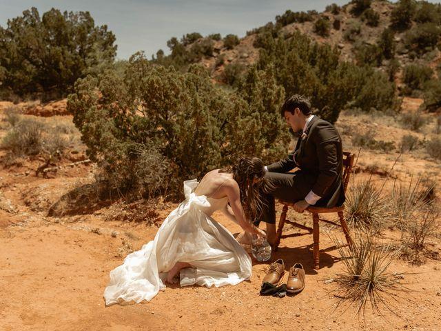 David and Rebecka's Wedding in Amarillo, Texas 8