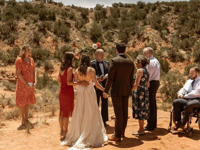 David and Rebecka's Wedding in Amarillo, Texas 28