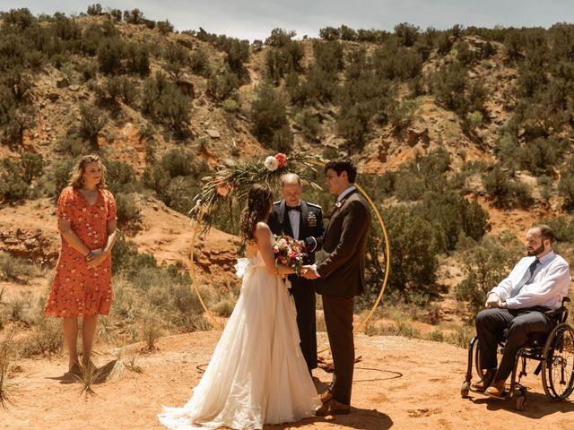 David and Rebecka's Wedding in Amarillo, Texas 30