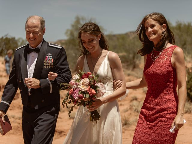 David and Rebecka's Wedding in Amarillo, Texas 31