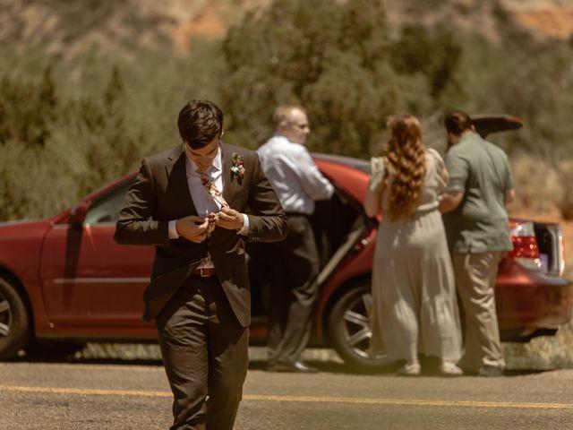 David and Rebecka's Wedding in Amarillo, Texas 35