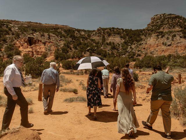 David and Rebecka's Wedding in Amarillo, Texas 36