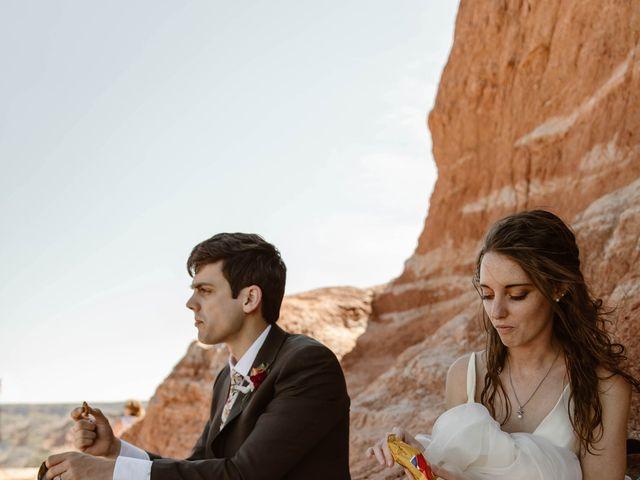David and Rebecka's Wedding in Amarillo, Texas 46