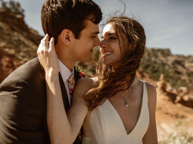 David and Rebecka's Wedding in Amarillo, Texas 49