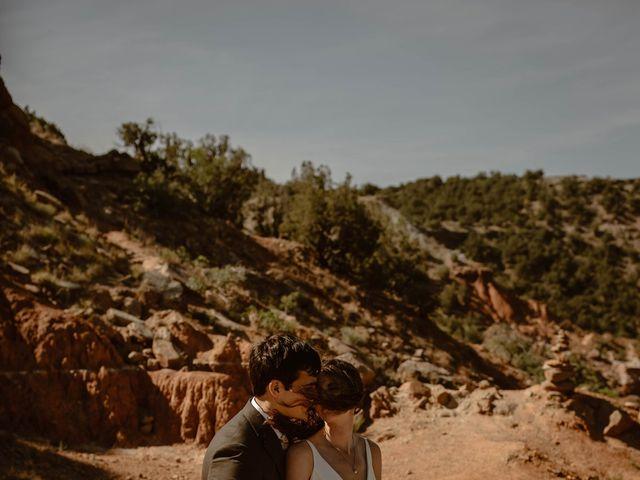 David and Rebecka's Wedding in Amarillo, Texas 50