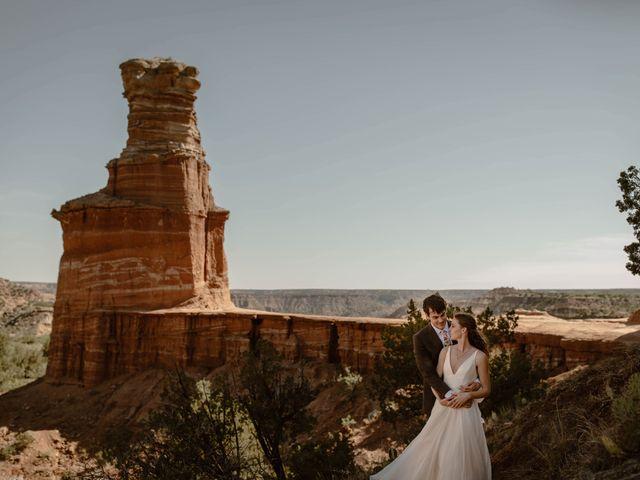 David and Rebecka's Wedding in Amarillo, Texas 52