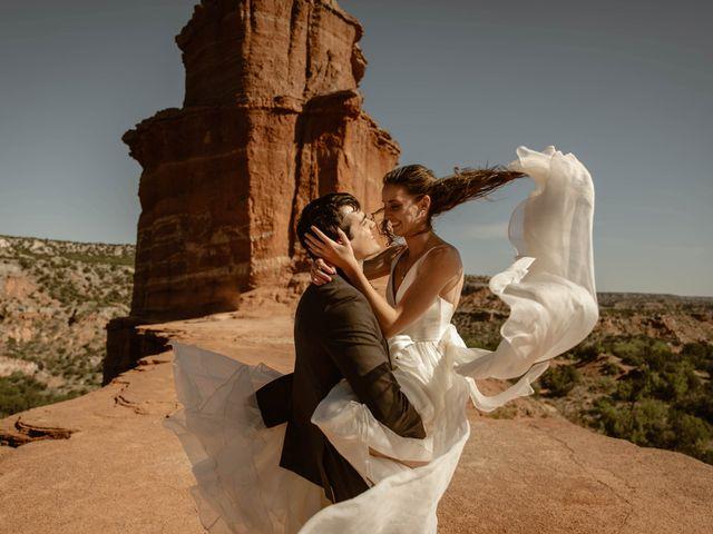 David and Rebecka's Wedding in Amarillo, Texas 61
