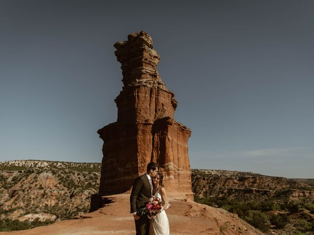 David and Rebecka's Wedding in Amarillo, Texas 69