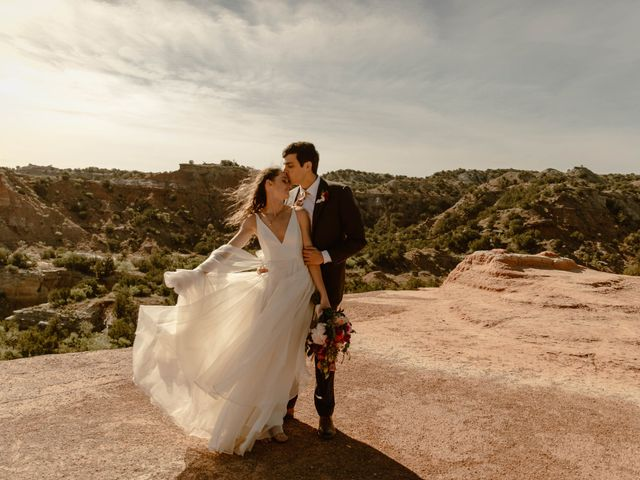 David and Rebecka's Wedding in Amarillo, Texas 74
