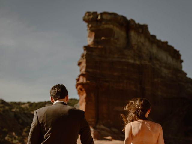 David and Rebecka's Wedding in Amarillo, Texas 80