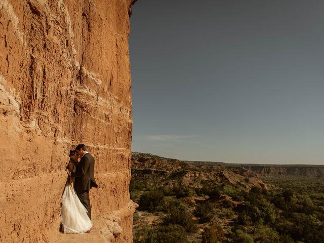 David and Rebecka's Wedding in Amarillo, Texas 82