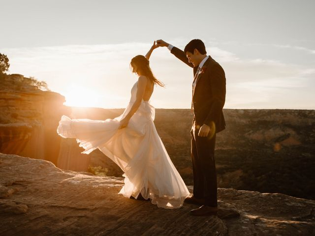 David and Rebecka's Wedding in Amarillo, Texas 100