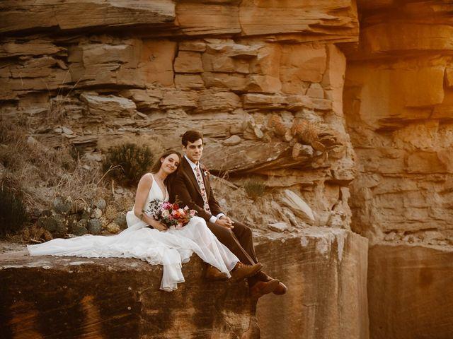 David and Rebecka's Wedding in Amarillo, Texas 109