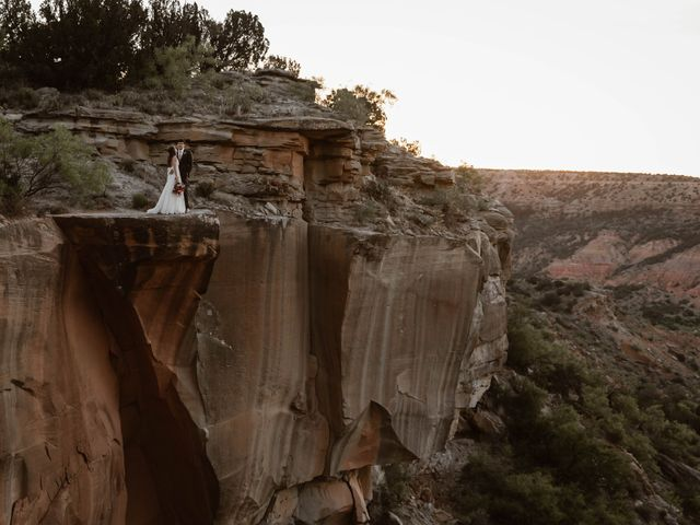 David and Rebecka's Wedding in Amarillo, Texas 115