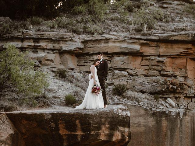 David and Rebecka's Wedding in Amarillo, Texas 116