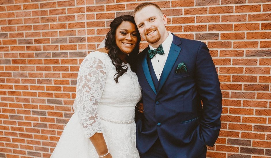 Cory  and Angel 's Wedding in Mt Zion, Illinois