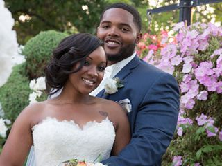 The wedding of Richard and Jaima