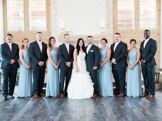 Lindsay and Chase's wedding in Texas 12