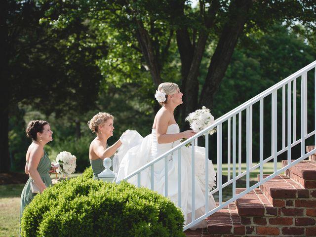 Emily and Adam's Wedding in New Kent, Virginia 8