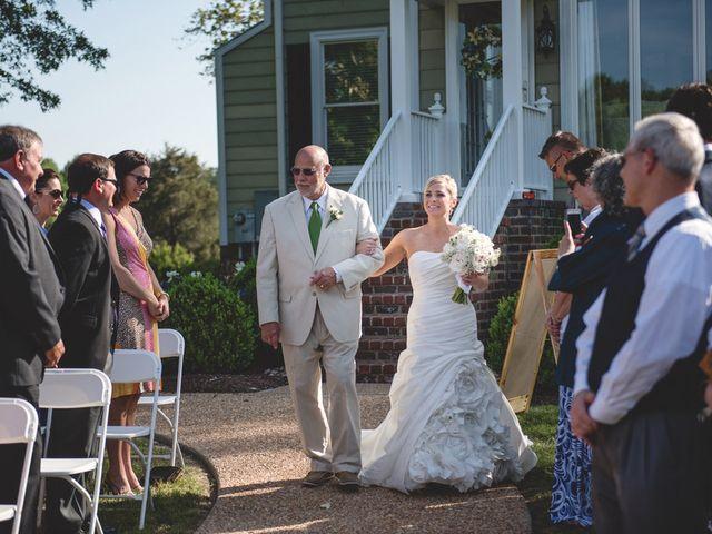 Emily and Adam's Wedding in New Kent, Virginia 13