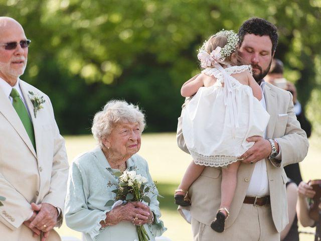 Emily and Adam's Wedding in New Kent, Virginia 11
