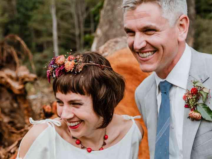 The wedding of Cy S. and Kimber