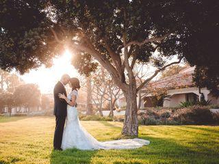 The wedding of Natasha and Samir