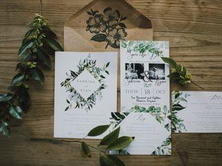 The wedding of Ryan and Sabrina 1
