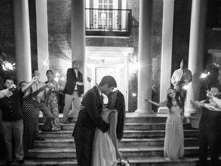 The wedding of Christa and Josh 1