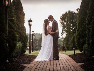 The wedding of Christa and Josh