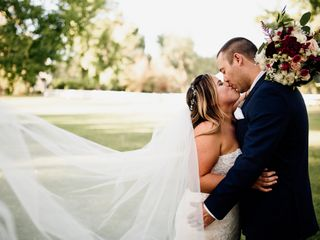 The wedding of Caitlin and Jason