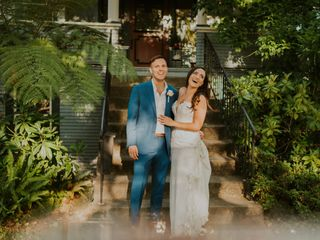 The wedding of Mallory and Mark