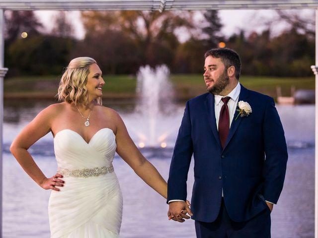 The wedding of Amanda and Mark