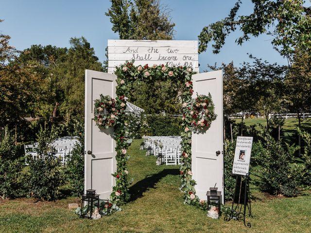Jason and Caitlin's Wedding in Coto De Caza, California 11
