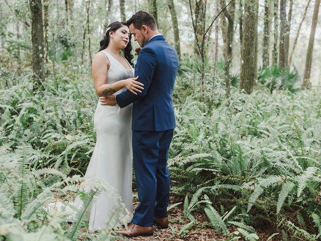 The wedding of Anjelica and Cody