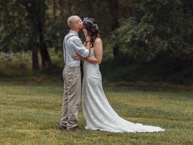 The wedding of Kaylie and Chris