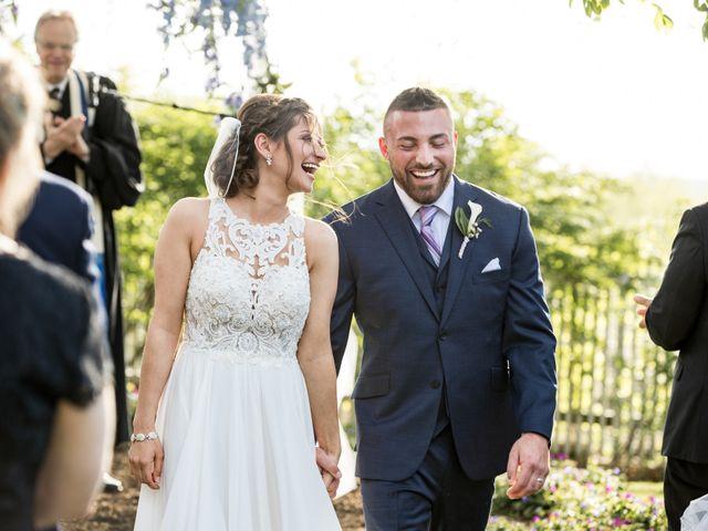 Kyle and Jenna's Wedding in Washingtonville, New York 1