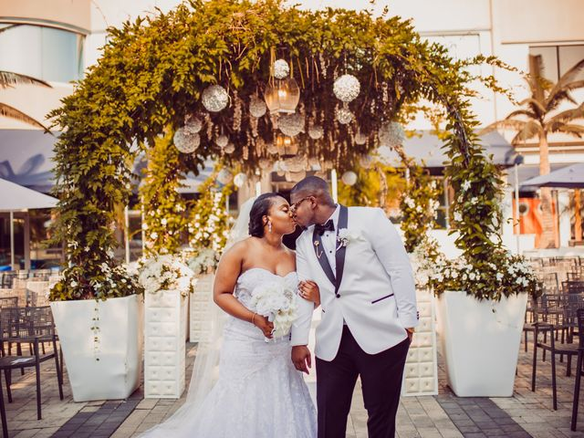 Kemar and Domonique's Wedding in Long Island City, New York 13