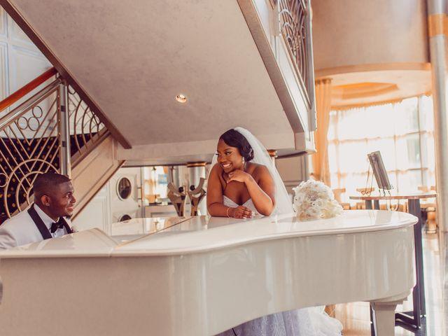 Kemar and Domonique's Wedding in Long Island City, New York 15