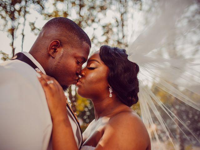 Kemar and Domonique's Wedding in Long Island City, New York 16