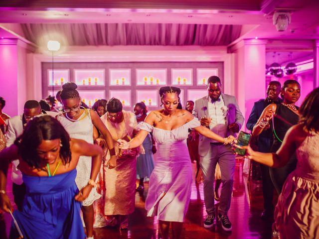 Kemar and Domonique's Wedding in Long Island City, New York 20