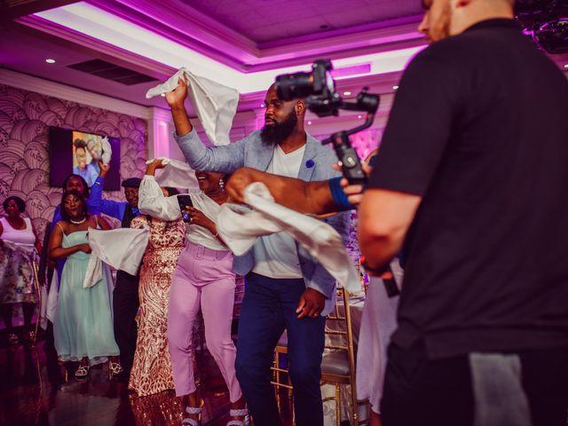 Kemar and Domonique's Wedding in Long Island City, New York 25