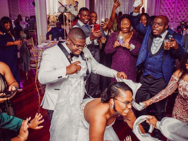 Kemar and Domonique's Wedding in Long Island City, New York 26