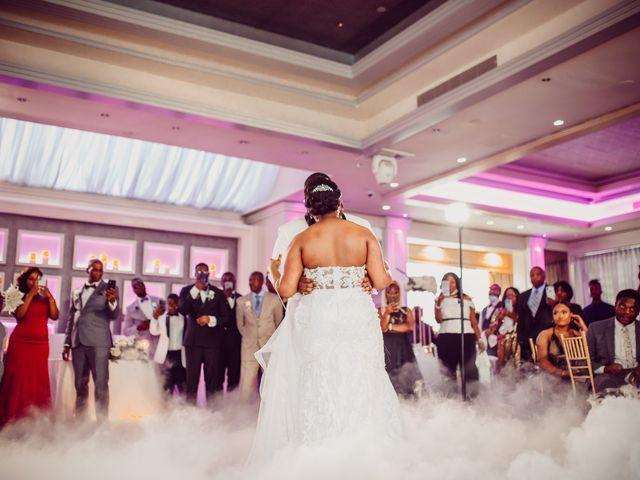 Kemar and Domonique's Wedding in Long Island City, New York 31