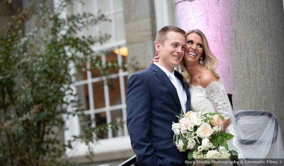 Kyle and Nicole's Wedding in Newtown Square, Pennsylvania