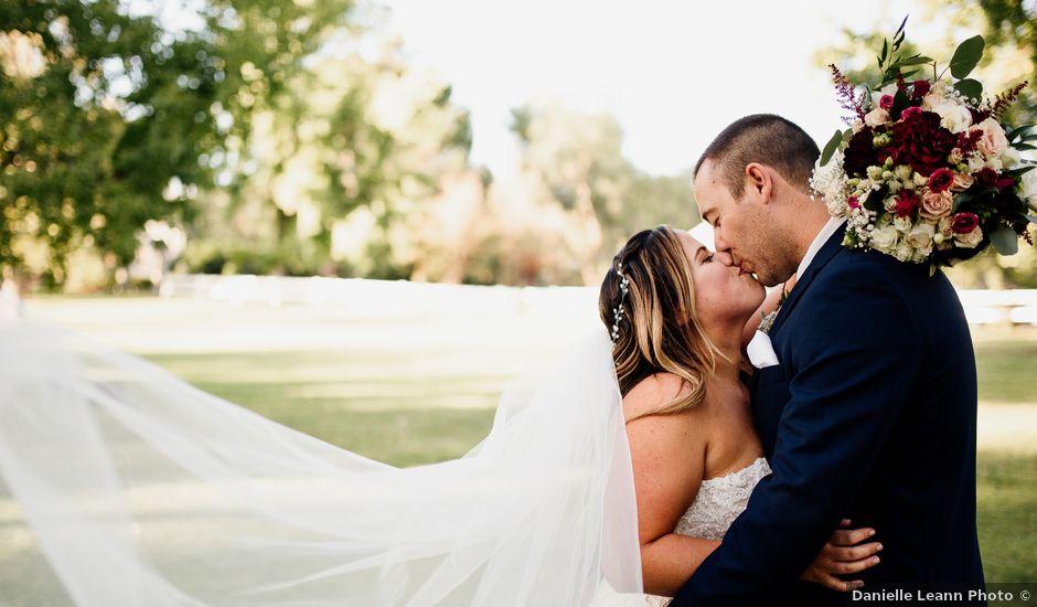 Jason and Caitlin's Wedding in Coto De Caza, California